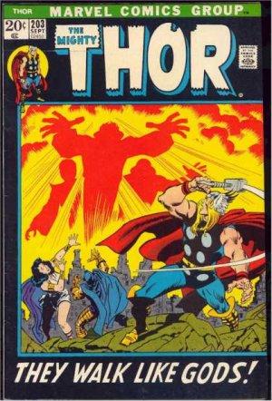 Thor # 203 Issues V1 (1966 à 1996)