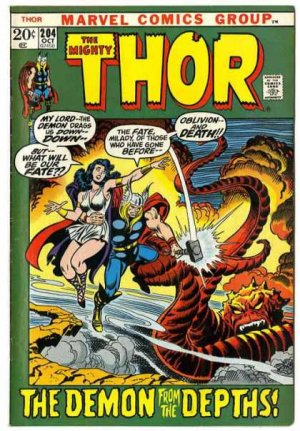 Thor # 204 Issues V1 (1966 à 1996)