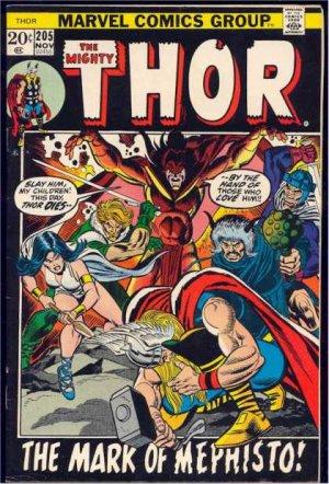 Thor # 205 Issues V1 (1966 à 1996)