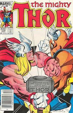 Thor # 338 Issues V1 (1966 à 1996)