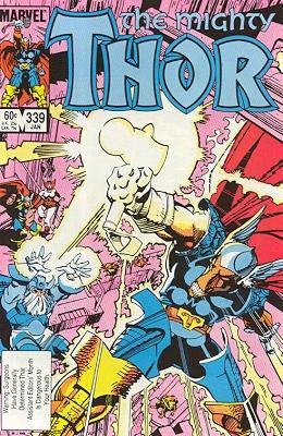 Thor # 339 Issues V1 (1966 à 1996)