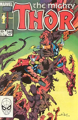 Thor # 340 Issues V1 (1966 à 1996)