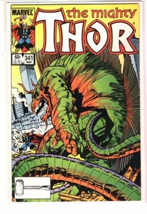 Thor # 341 Issues V1 (1966 à 1996)