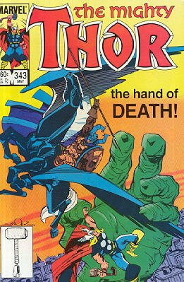 Thor # 343 Issues V1 (1966 à 1996)