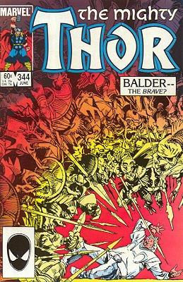 Thor # 344 Issues V1 (1966 à 1996)