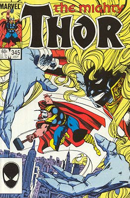 Thor # 345 Issues V1 (1966 à 1996)
