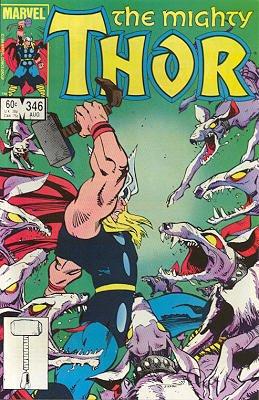 Thor # 346 Issues V1 (1966 à 1996)