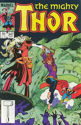 Thor # 347 Issues V1 (1966 à 1996)