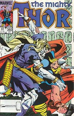 Thor # 360 Issues V1 (1966 à 1996)