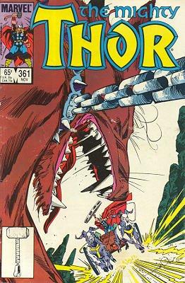 Thor # 361 Issues V1 (1966 à 1996)