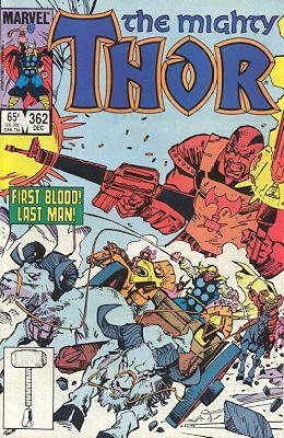 Thor # 362 Issues V1 (1966 à 1996)