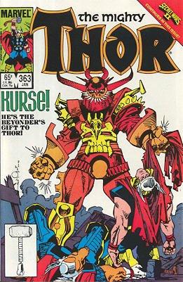 Thor # 363 Issues V1 (1966 à 1996)