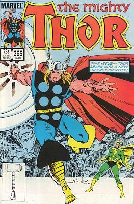 Thor # 365 Issues V1 (1966 à 1996)