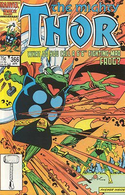 Thor # 366 Issues V1 (1966 à 1996)