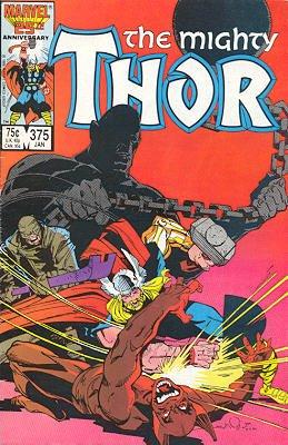 Thor # 375 Issues V1 (1966 à 1996)