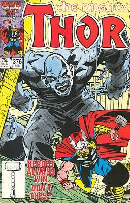 Thor # 376 Issues V1 (1966 à 1996)