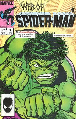 Web of Spider-Man # 7