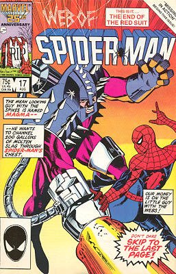 Web of Spider-Man # 17