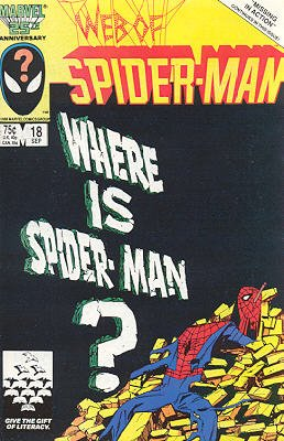 Web of Spider-Man # 18