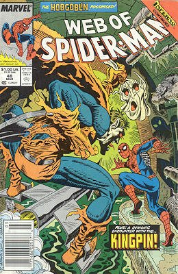 Web of Spider-Man # 48 Issues V1 (1985 - 1995)