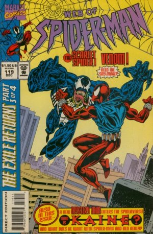 Web of Spider-Man # 119 Issues V1 (1985 - 1995)