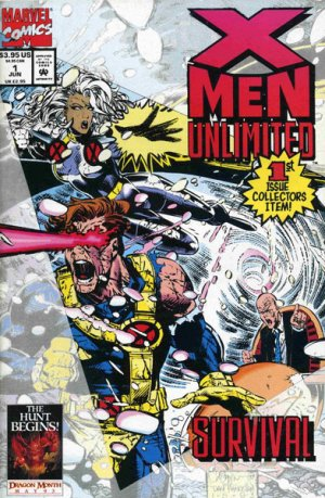 X-Men Unlimited # 1 Issues V1 (1993 - 2003)