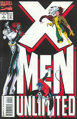 X-Men Unlimited # 4 Issues V1 (1993 - 2003)