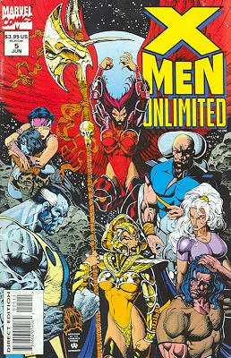 X-Men Unlimited # 5 Issues V1 (1993 - 2003)