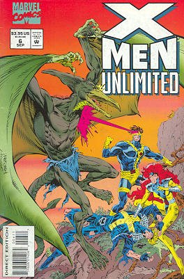 X-Men Unlimited # 6 Issues V1 (1993 - 2003)