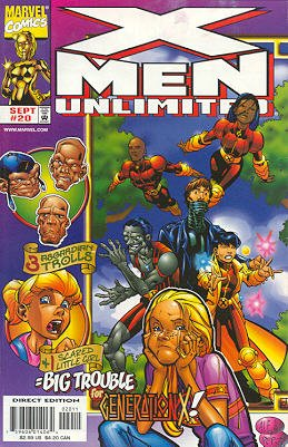 X-Men Unlimited 20 - Where the Wild Things Were