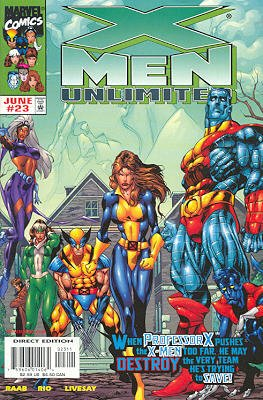 X-Men Unlimited # 23 Issues V1 (1993 - 2003)