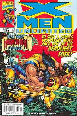 X-Men Unlimited # 24 Issues V1 (1993 - 2003)