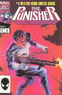 Punisher # 5 Issues V01 (1986)