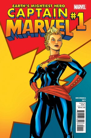 Captain Marvel # 1
