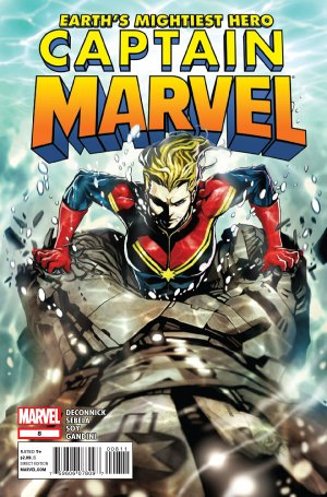 Captain Marvel # 8