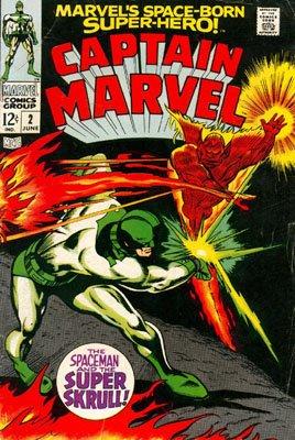 Captain Marvel # 2 Issues V01 (1968 - 1979)