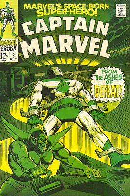 Captain Marvel # 3 Issues V01 (1968 - 1979)