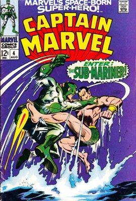 Captain Marvel # 4 Issues V01 (1968 - 1979)