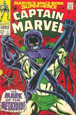 Captain Marvel # 5 Issues V01 (1968 - 1979)