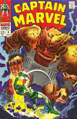 Captain Marvel # 6 Issues V01 (1968 - 1979)