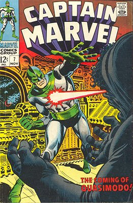 Captain Marvel # 7 Issues V01 (1968 - 1979)