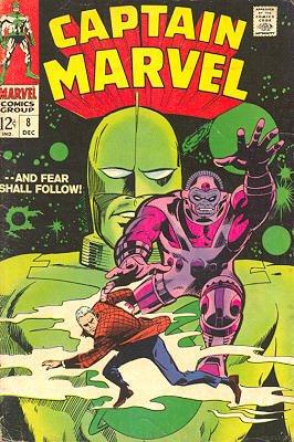 Captain Marvel # 8 Issues V01 (1968 - 1979)