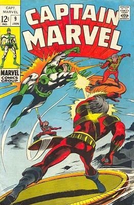 Captain Marvel # 9 Issues V01 (1968 - 1979)