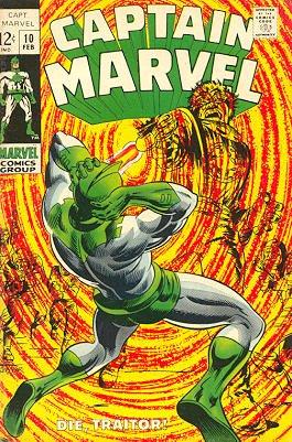 Captain Marvel # 10 Issues V01 (1968 - 1979)