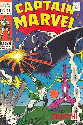 Captain Marvel # 11 Issues V01 (1968 - 1979)