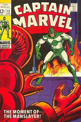 Captain Marvel # 12 Issues V01 (1968 - 1979)