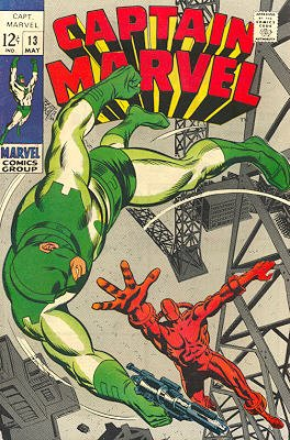 Captain Marvel # 13 Issues V01 (1968 - 1979)