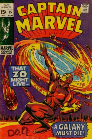 Captain Marvel # 15 Issues V01 (1968 - 1979)
