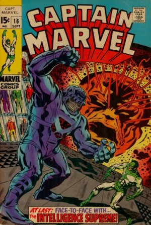 Captain Marvel # 16 Issues V01 (1968 - 1979)