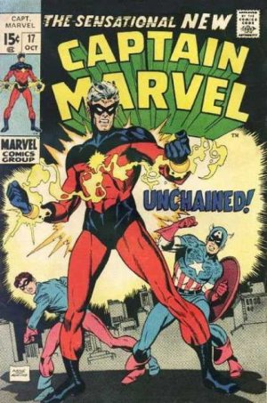 Captain Marvel # 17 Issues V01 (1968 - 1979)